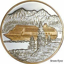 Alaska Mint CRUISE SHIP Silver Medallion Proof 1Oz - $103.83