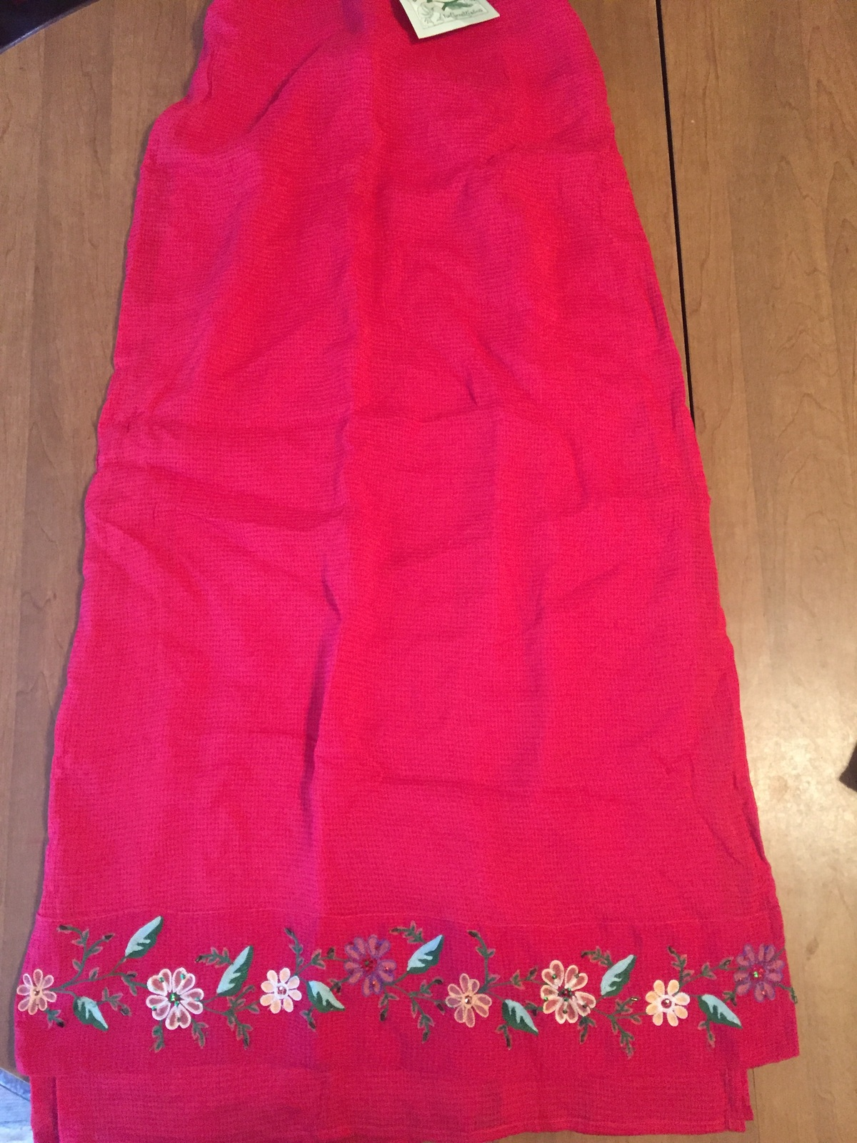 Women's red size s April Cornell rm268/sec