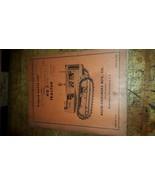 Original Allis-Chalmers HD 7 Crawler Tractor repair Parts List Manual tp... - $24.75