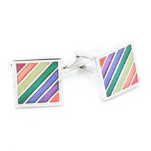 CUFFLINKS Bands multicoloured - $37.53