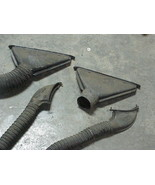 1957 57 Ford Lincoln Premiere Capri Set of 4 Defrost Vents, some with hoses - $98.99