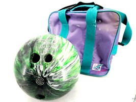 Ebonite Maxim Drilled Bowling Ball 14lbs with Case - $35.02