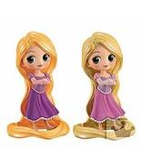 Banpresto Q Posket Disney Rapunzel Girlish Charm Figure A B Set NEW Japan F/S