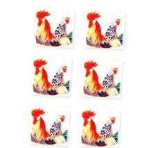 Dollhouse Porcelain Tiles 1.791/6 Reutter Rooster Miniature - $14.70
