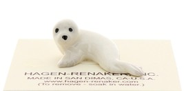 Hagen-Renaker Miniature Ceramic Wildlife Figurine Tiny Harp Seal Pup