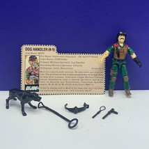 Gi Joe Cobra action figure military Hasbro complete 84 Junkyard Dog Hand... - $94.05