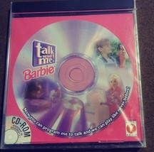 Barbie Talk with Me CD-Rom Windows 95 Software NEW CD only no Doll Matte... - $6.49