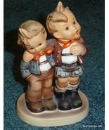 """MAX AND MORITZ"" Hummel Figurine #123 TMK5 Big Brother And Little Brothe... - $126.09"