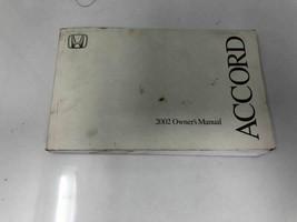 2002 Honda Accord Owners Manual Case Handbook OEM Z0S03 - $23.99