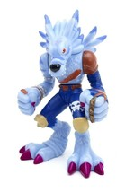 "Vintage WEREGARURUMON Digimon BANDAI 3"" Punching Action Figure 1999 POSE... - $33.79"
