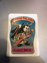 Garbage Pail Kids Nasty Nick 1a 1985  - $46.01
