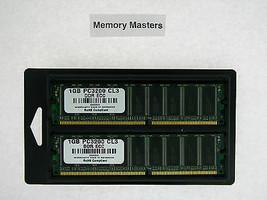 M9448G/A 2GB 2x1GB PC3200 DDR400 ECC Memory Apple Xserve G5 - $32.89