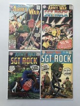 Lot of 4 Our Army at War (1952) #142 163 179 202 Reader - $74.25