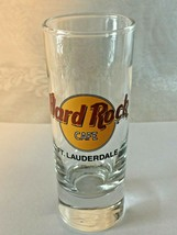 "Hard Rock Cafe FT. LAUDERDALE 4"" Shot Glass - COLLECTOR'S ITEM!  Save Th... - $7.87"
