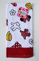 Disney Minnie Mouse Body Parts Polka Dot Bow Kitchen Towel - $8.61