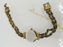 Vintage Tecnibond Ladies Watch Gold Rope Runs image 7