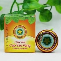10pcs Golden Star Tiger Balm Headache Menthol Relief Balm Vietnam Headache image 2