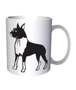 Dog Boxer 11oz Mug j430 - $10.83