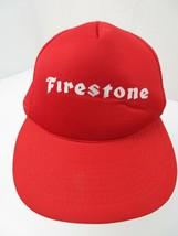 Firestone Trucker Mesh Snapback Adult Cap Hat - $14.84