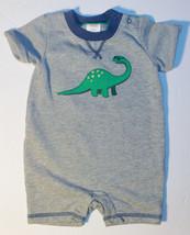 Gymboree Baby Infant Boys Romper Dinosaur Size 3-6 Months NWT - $10.08