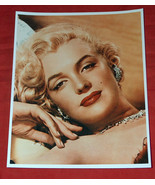 "8X10"" Color Photo of MARILYN MONROE Looking Seductive, Sexy, Reprint on ... - $19.79"