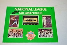 Vintage 1981 The Official National Green Baseball Media Guide  - $9.89