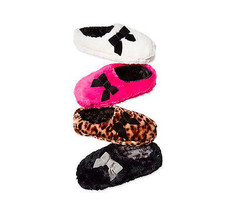 INC International Concepts Plush Bow Clog Slippers - $21.99