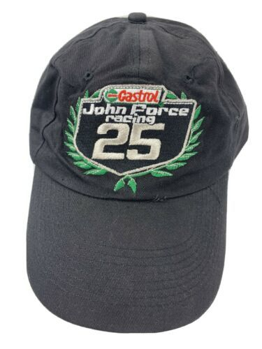 Primary image for Castrol John Force 25 Years Racing Adjustable Adult Cap Hat