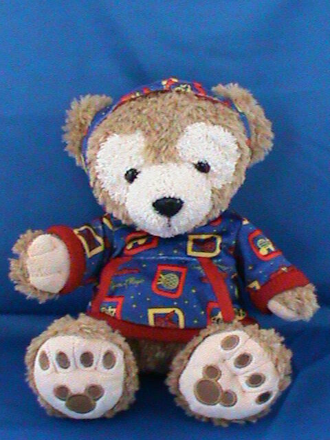 "Primary image for Disney Hidden Mickey Duffy Bear Plush Brown Tan 12"" Disney Parks"