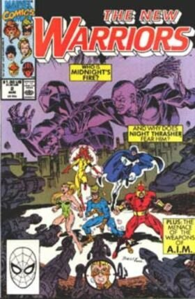 The New Warriors Comic 2 Aug By Marvel Comics (Who is Midnight's Fire?, 2) [C...