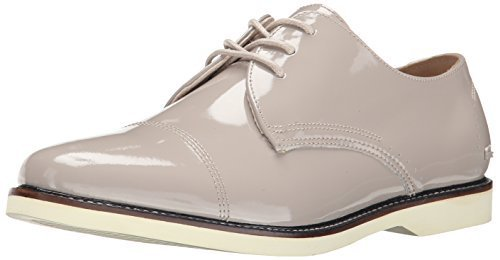 Lacoste Women's Rene Prep DBY Oxford, Light Brown, 8 M US