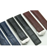 19mm DISMAY Replacement Leather Watch Band Strap Made For Tag Heuer WF11... - $39.99
