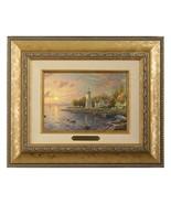 Thomas Kinkade Serenity Cove Brushwork 5 x 7 (Gold Frame) - $89.00