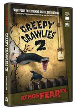 Creepy Crawlies 2 DVD Prop Atmosfear FX Virtual Window Halloween ATX0004 - £32.13 GBP