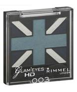 Rimmel Eye Shadow Quad, Royal Blue 003 frosted blues full size Glam Eyes - $7.99