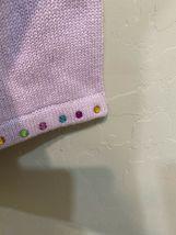 Storybook Knits Lavender Zip Up Cardigan Sweater Plus Size 1X Gems HSN image 4