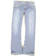 Levi 504 jeans 20 x 32 slouch flap pockets wrinkled leg bottom med wash ... - $49.49