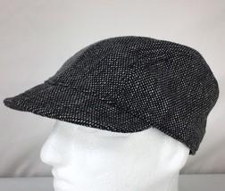 0d0fcb6815348 Goorin Bros Brothers Gray Tweed Wool Blend Jockey Style Cap Hat Stretch Fit  EUC -  20.90