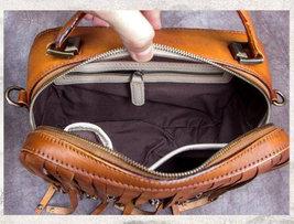 Sale, Vintage Full Grain Leather Shoulder Bag, Designer Handbag For Women image 3
