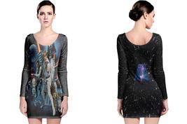 Star Wars Long Sleeve Bodycon Dress - $45.99