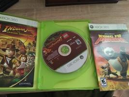 MicroSoft XBox 360 LEGO Indiana Jones: The Original Adventures & Kung Fu Panda C image 2