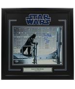 Dave Prowse Signed Framed 11x14 Star Wars Darth Vader Photo BAS D54891 - $346.49