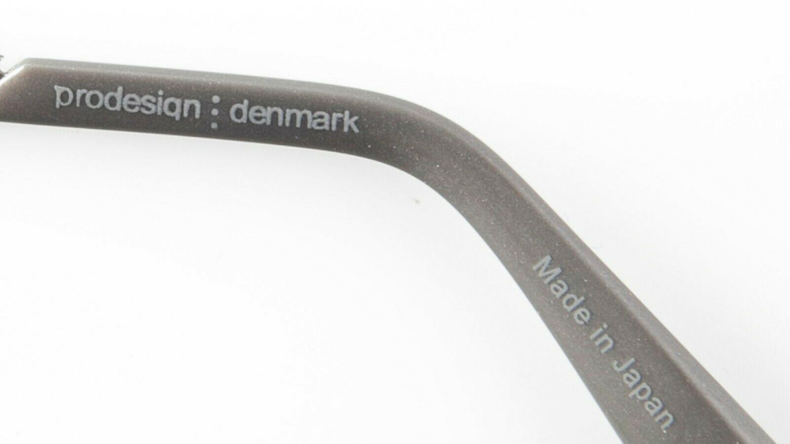 NEW PRODESIGN DENMARK 1228 c4121 RED EYEGLASSES FRAME 49-15-137 B24mm Japan