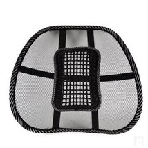 PANDA SUPERSTORE Massage Waist Cushion/Car Decoration Lumbar Support/Back Cushio