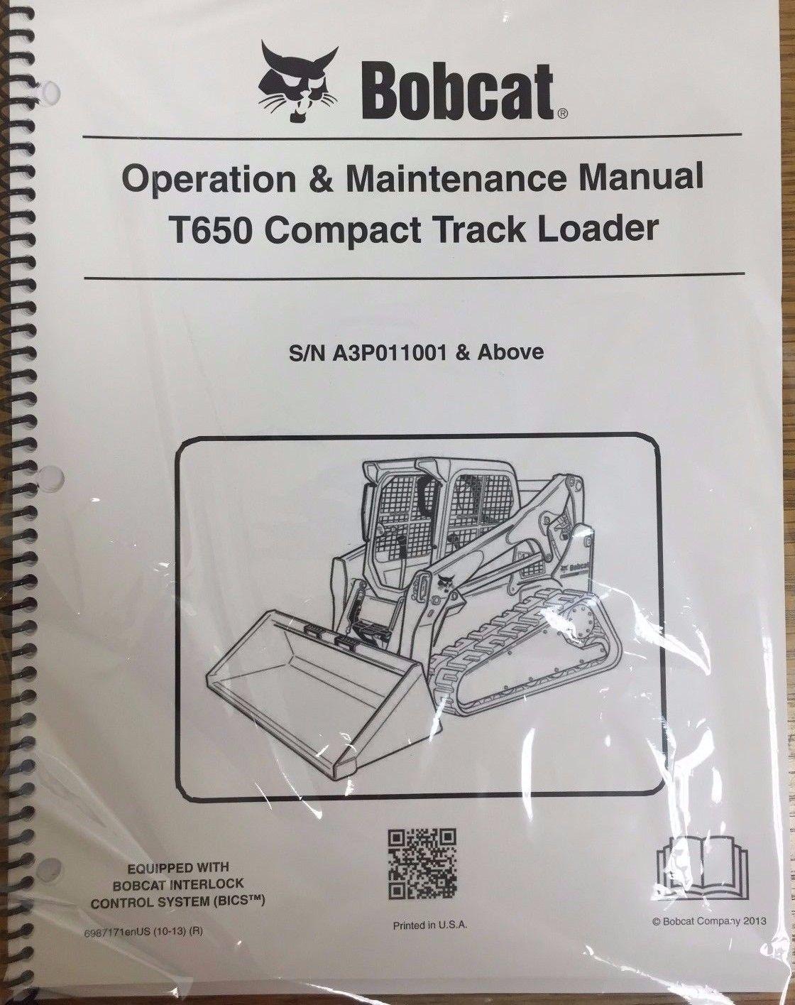 Bobcat T650 repair manual