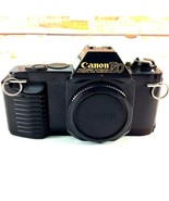 Vintage Canon T50 35mm SLR Film Camera Only Needs Battery Cover Repaired... - $18.69
