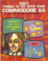 1001 Things to do with your Commodore 64 * CDROM * PDF - $7.99