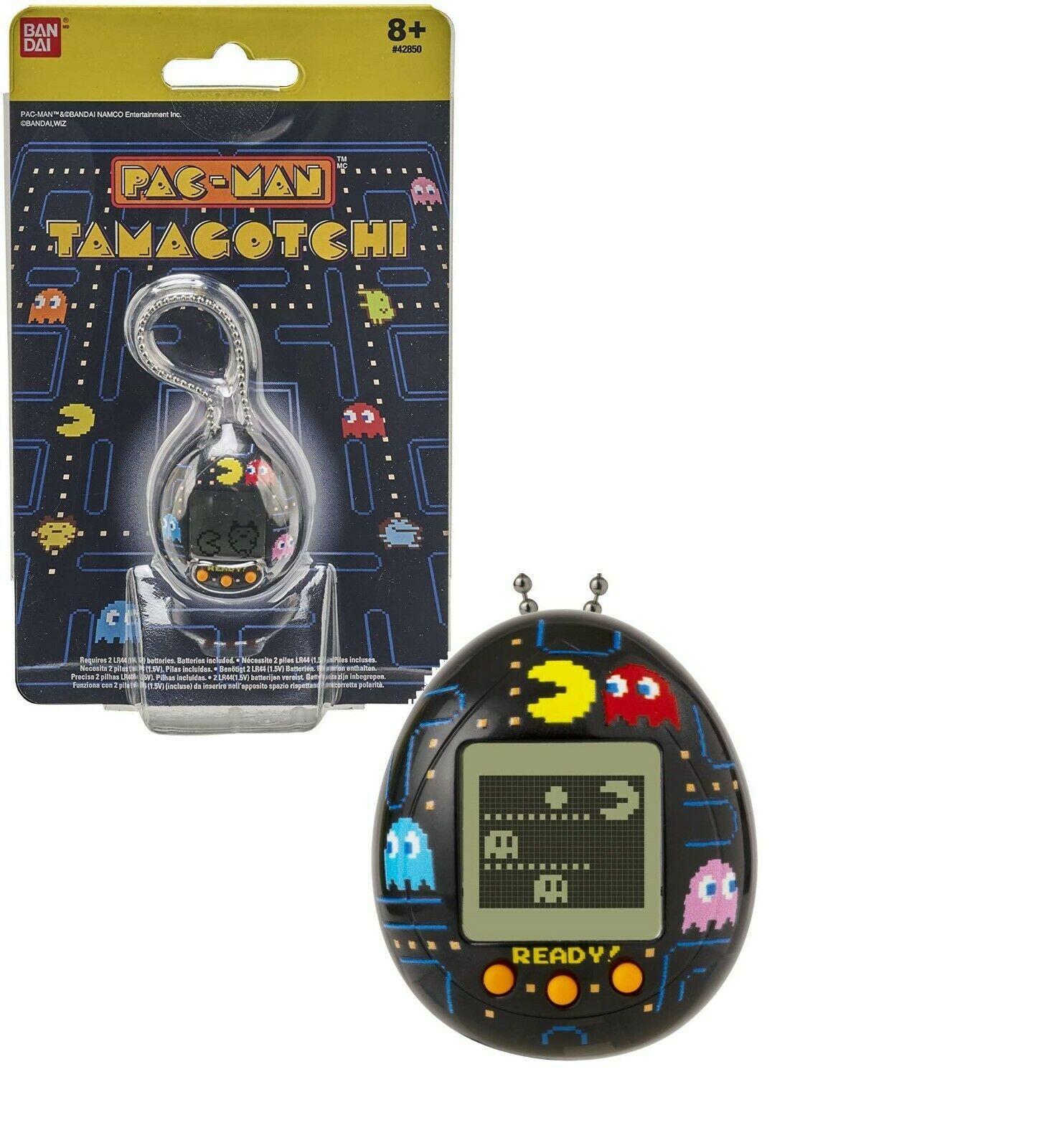 New Bandai Tamagotchi PAC-Man Edition - Black - $18.99