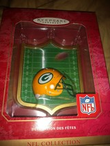 Hallmark NFL Green Bay Packers Christmas Tree Ornament 2001 NEW - $34.64