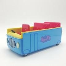 Peppa Pig's School Bus 2003 Jazwares Talking Sounds - $9.99